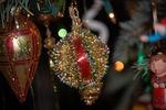 Handmade beaded ornament