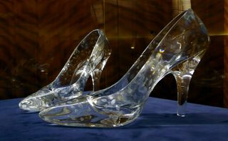 Glass_slippers_at_Dartington_Crystal