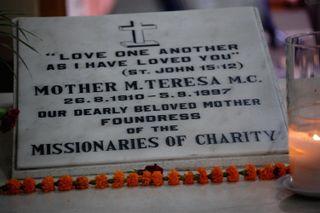 Mother Teresa's tomb