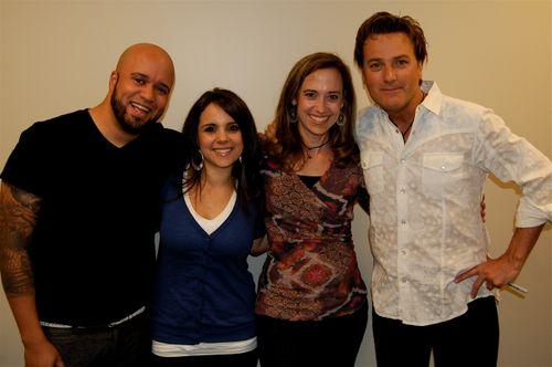 Carlos & Heather Whittaker, Robin @ Pensieve, Michael W. Smith