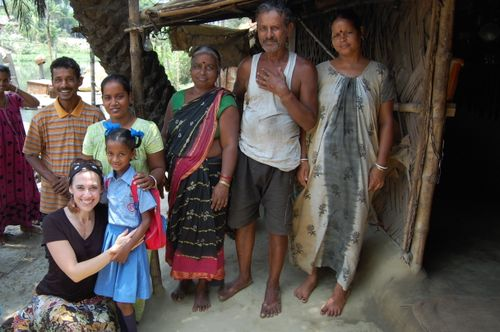 Kolkata family sponsored by Compassion International