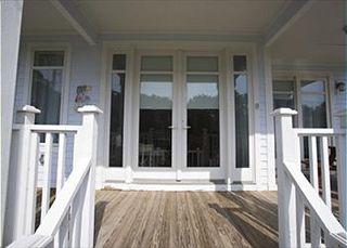 Paula Deen's Tybee Island Home entrance
