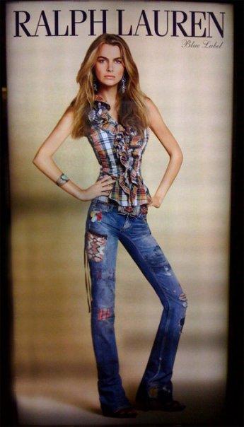 Ralph Lauren Blue Label Jeans