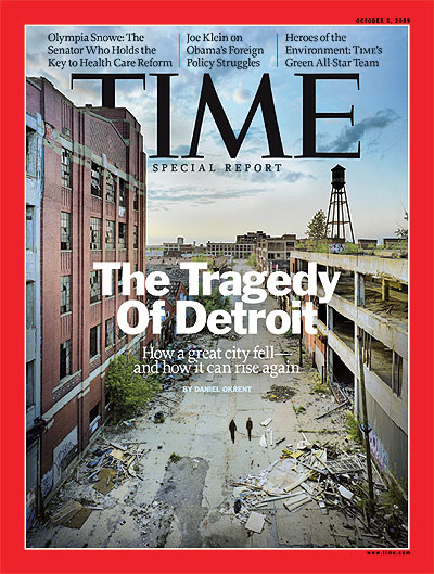 Time Magazine Cover, Week of October 5, 2009