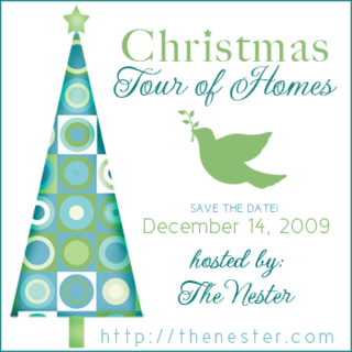 Blog Christmas Tour of Homes, hosted by The Nester
