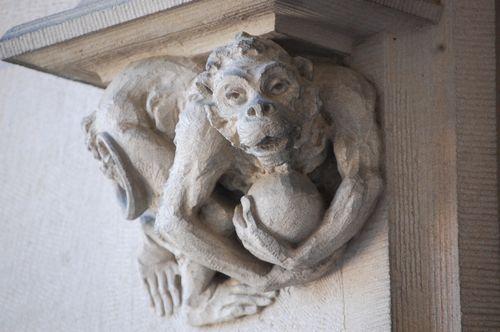 Biltmore Estate monkey grotesque