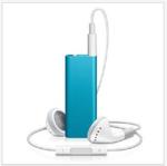 Apple 2GB iPod Shuffle blue