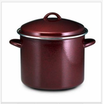 Paula Deen 12-quart stockpot ~ red