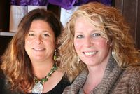 Jean & Susan--Real beauties at Therapon's Chattanooga Face2Face