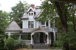 Historic home, Montford Park, Asheville
