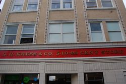 I miss the old 5 and dimes... Kress Building, Asheville downtown