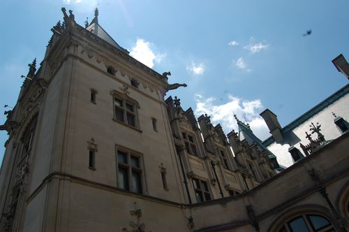 Angled view of Biltmore House