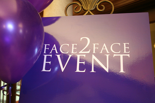 Therapon Face2Face sign