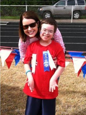 Special Olympics long jump winner :)
