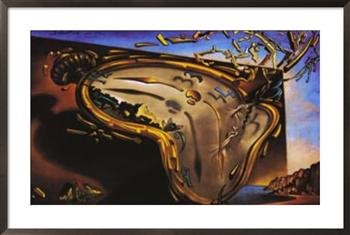 Melting clock by Dali