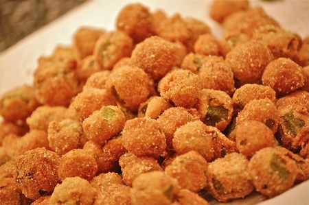 Best fried okra recipe