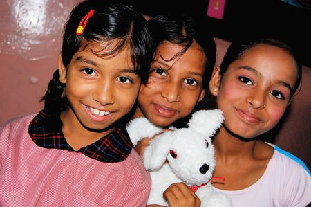 Kolkata, India, Children in poverty, sponsored through Compassion International