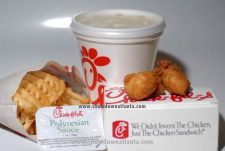 Chick-fil-A Chicken Nugget Meal