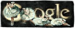 Anna Pavola Google Doodle