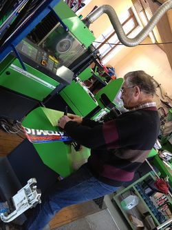 machining skis