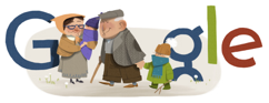 Grandparents Day Google Doodle