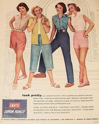 Levis vintage women's ad
