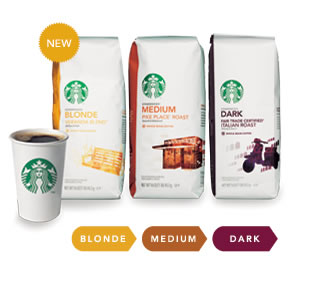 Starbucks coffee blends