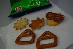 Lufthansa's pretzel mix