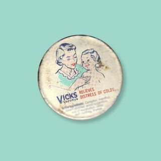 Vintage Vicks Pin