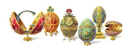 Fabrege Egg Google Doodle