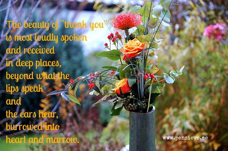 Beauty of Thank You