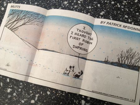 Mutts comic - spring