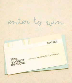 Lisa-Leonard-gift-certificate-giveaway