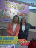Linda and Megan at Amy's Hallmark