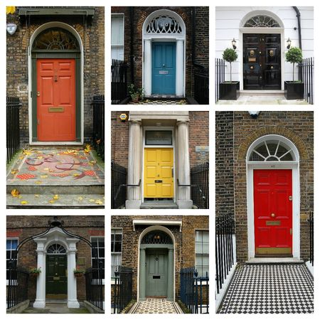 London Door Collage