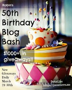 50th Birthday Blog Bash