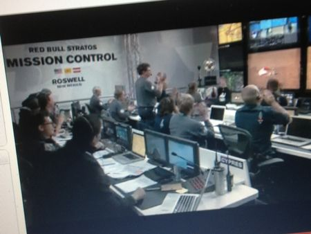 Red Bull Stratos Misson Control