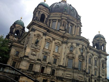 Back view Berlin Cathedral (Berliner Dom)