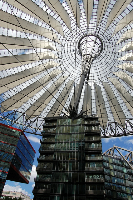 Sony Center @ Potsdamer Platz