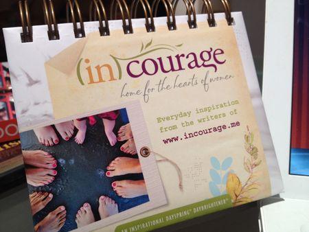 DaySpring ~ incourage perpetual calendar