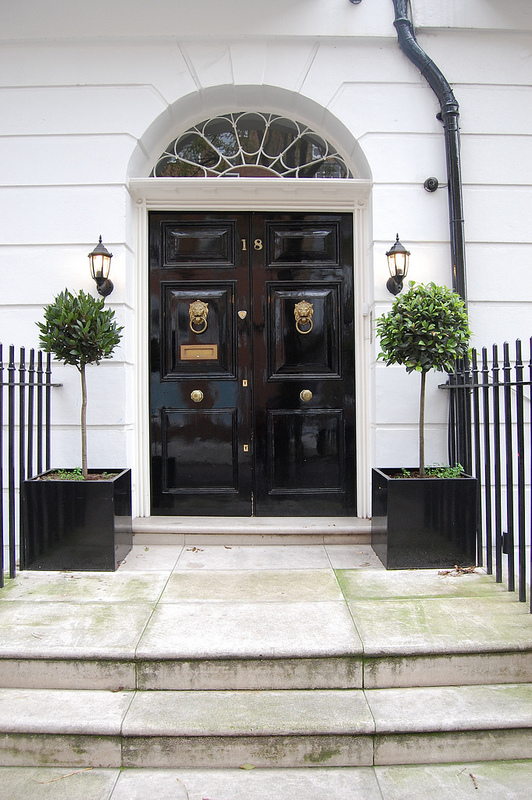 black double door in london & 25 Years and Fanciful London Doors - Robin Dance | Robin Dance
