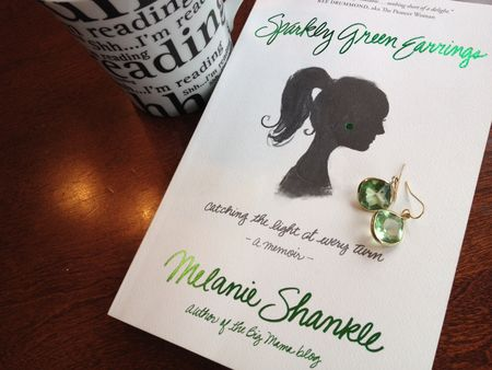 Sparkly Green Earrings - Big Mama - Melanie Shankle