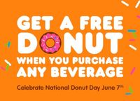 Dunkin Donuts National Donut Day picture