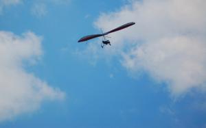 Stephen Hang gliding