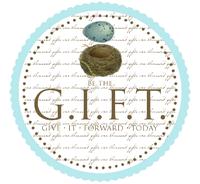 Be The Gift tag via Ann Voskamp