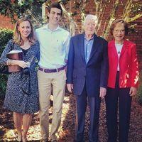 Meeting Jimmy and Rosalynn Carter at Marantha Baptist Church