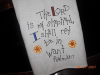 Psalm_23_embroidered_tea_towel