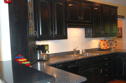 Black_distressed_cabinets_and_mixed