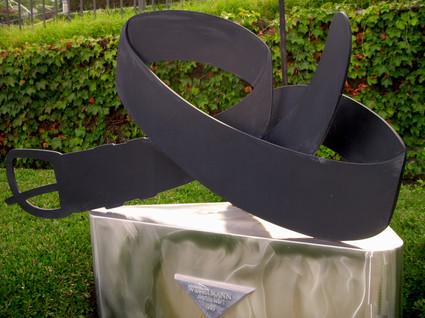 My_black_belt_sculpture