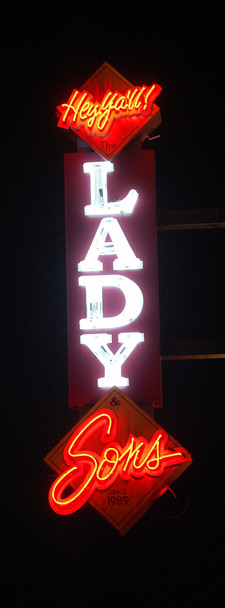 Ladyandsonsneonsign